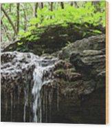 Waterfall Topper Wood Print