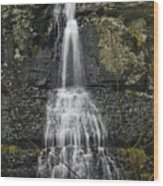 Waterfall01 Wood Print