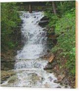 Waterfall#1 Wood Print