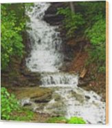 Waterfall#3 Wood Print