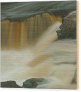 Waterfalls 31 Wood Print