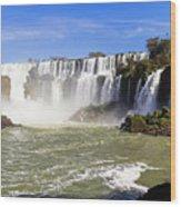 Waterfalls Wall Wood Print