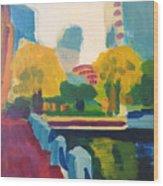 Waterfront Park, Boston Wood Print