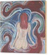Watergirl Wood Print