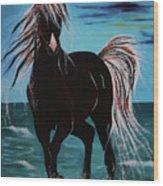 Waterhorse Wood Print