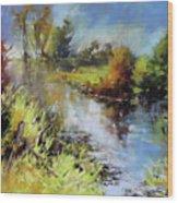 Waterline Wood Print