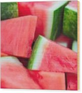 Watermelon 6673 Wood Print