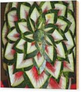 Watermelon Art Wood Print