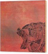 Watermelon Bear Wood Print