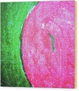 Watermelon Wood Print by Inessa Burlak