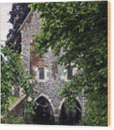 Watermill Wood Print