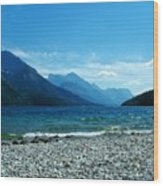 Waterton Beachcomber Wood Print