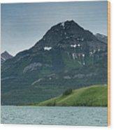 Waterton Lakes Wood Print