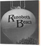 Watertower Of Reho Wood Print