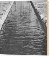 Waterway Wood Print