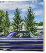 Watson - 1965 Cadillac Sedan Deville Wood Print