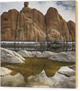 Watson Lake Arizona 11 Wood Print