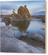Watson Lake Arizona 14 Wood Print