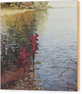Watts Bar Lake Rockwood Tn Wood Print