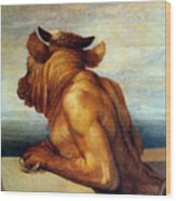 Watts: The Minotaur Wood Print