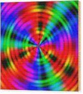 Wave 010 Wood Print