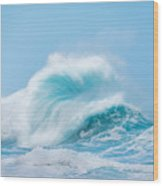 Wave #1 Wood Print