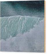 Eternal Wave Wood Print