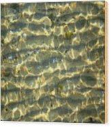 Wave Abstract Wood Print
