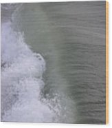 Wave Break  Wood Print