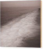 Wave Form Wood Print