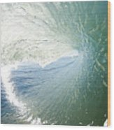 Wave In Motion Wood Print
