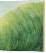 wave IV Wood Print