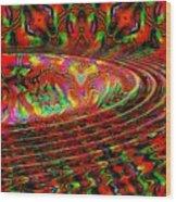Wave Length Wood Print
