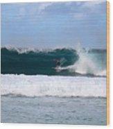 Wave Magnet Wood Print