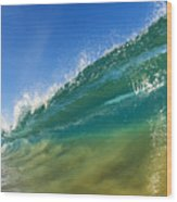 Wave - Makena Beach Wood Print