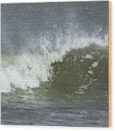 Wave Study Wood Print