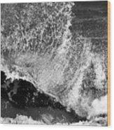 Wave Texture Wood Print