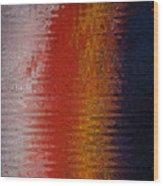 Wave Twirl Wood Print