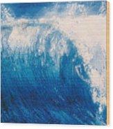 wave VI Wood Print