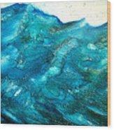 wave VII Wood Print