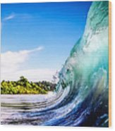 Wave Wall Wood Print