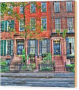Waverly Place Townhomes Wood Print