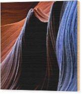 Waves Wood Print by Mike  Dawson