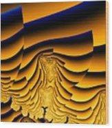 Waves Of Grain Wood Print