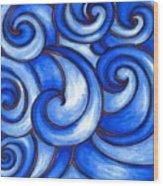 Waves Of Mercy Wood Print