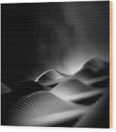 Waves Of Steel - Concrete Jungle Wood Print