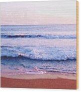 Waves On The Beach 2 Aedb Wood Print