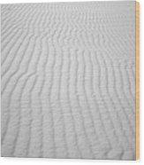 Wavy Sand Wood Print