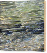 Wawona Ripples 3 Wood Print