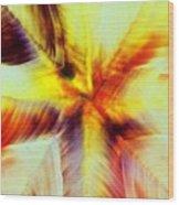 Wax Abstract Wood Print